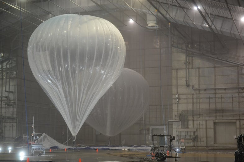 Google's Balloons Will Provide An Entire Country With Wi-Fi