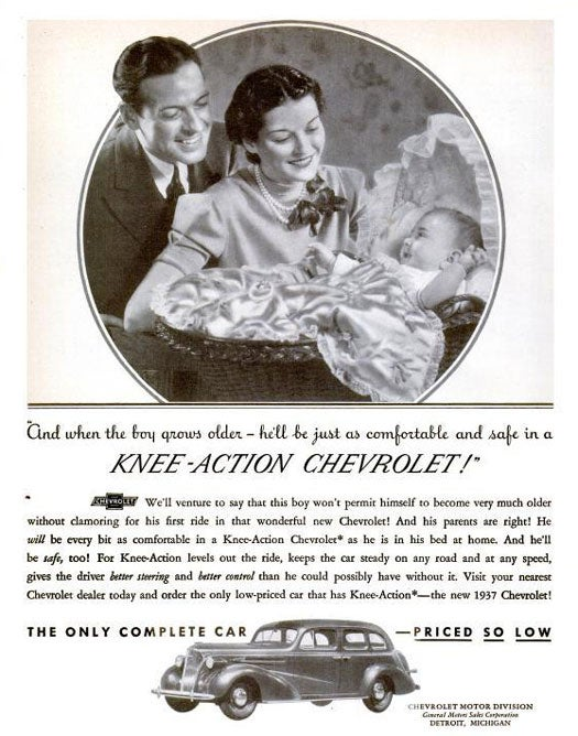 Knee-Action Chevrolet: July 1937
