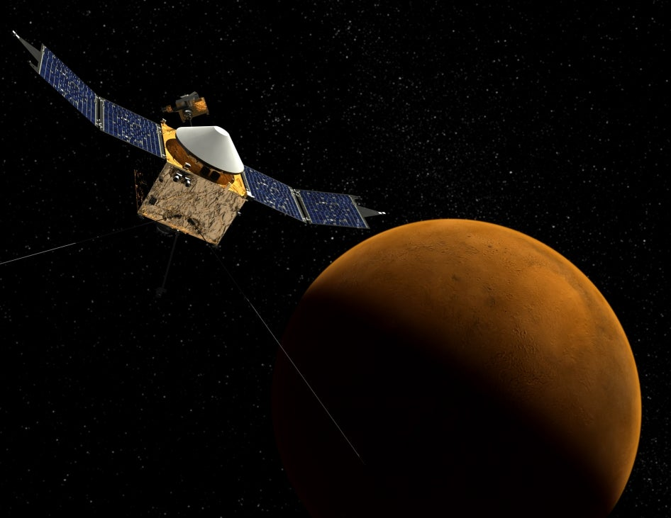 How Did Mars Die? NASA's Newest Spacecraft Aims to Find Out