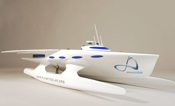 Swiss Boat Aims to Be First to Circumnavigate the Globe Under Solar Power