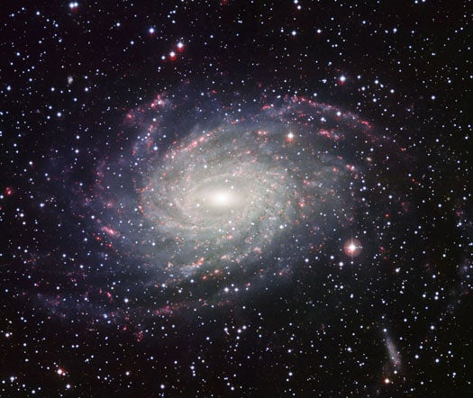A Spiraling Milky Way Look-Alike Shows What We Must Look Like From Extragalactic Space
