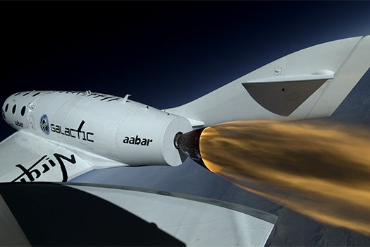 Virgin Galactic's Spaceship Flies On Rocket Power For First Time [Updated With Video]