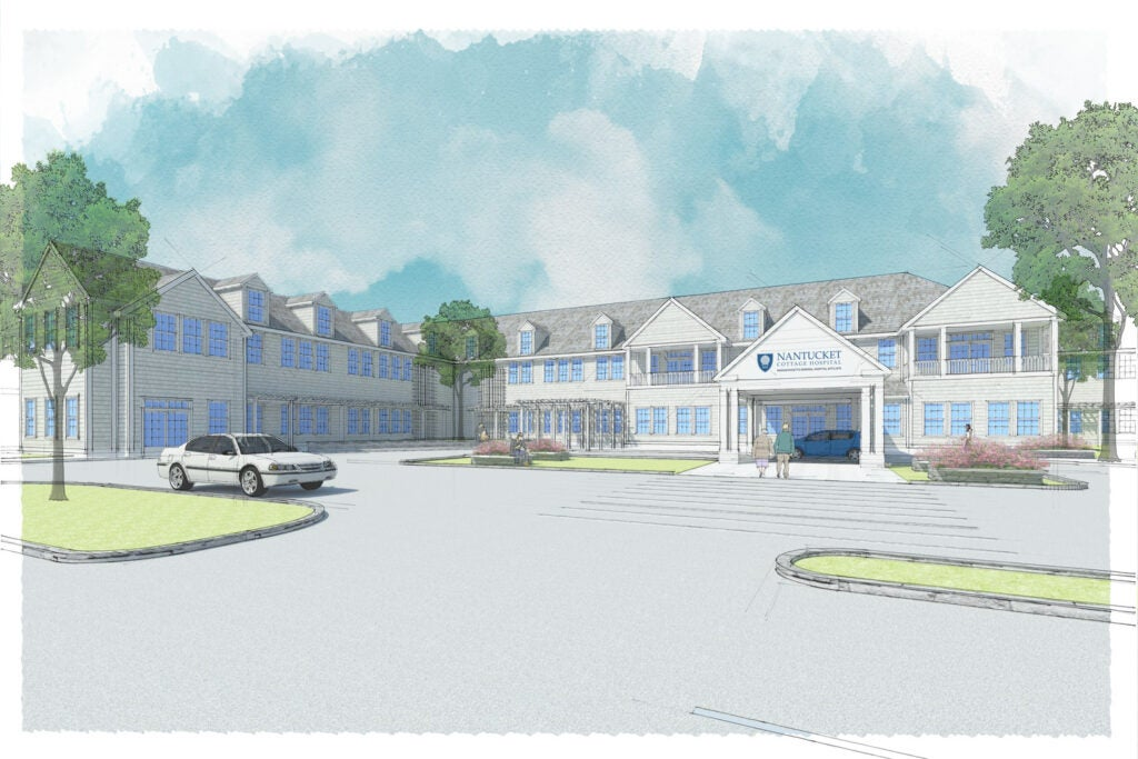 Nantucket Cottage Hospital rendering