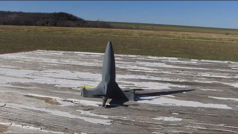 QuadRKT Drone Makers Raising Funds For Bigger, Missile-Shaped Version