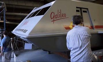 Superfan Rebuilds 'Star Trek' Shuttle At Home
