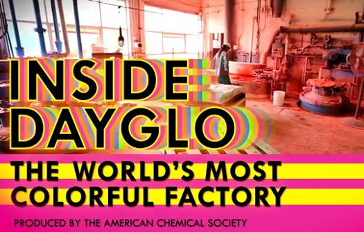 How The Most Colorful Factory In The World Turns The Planet Day-Glo