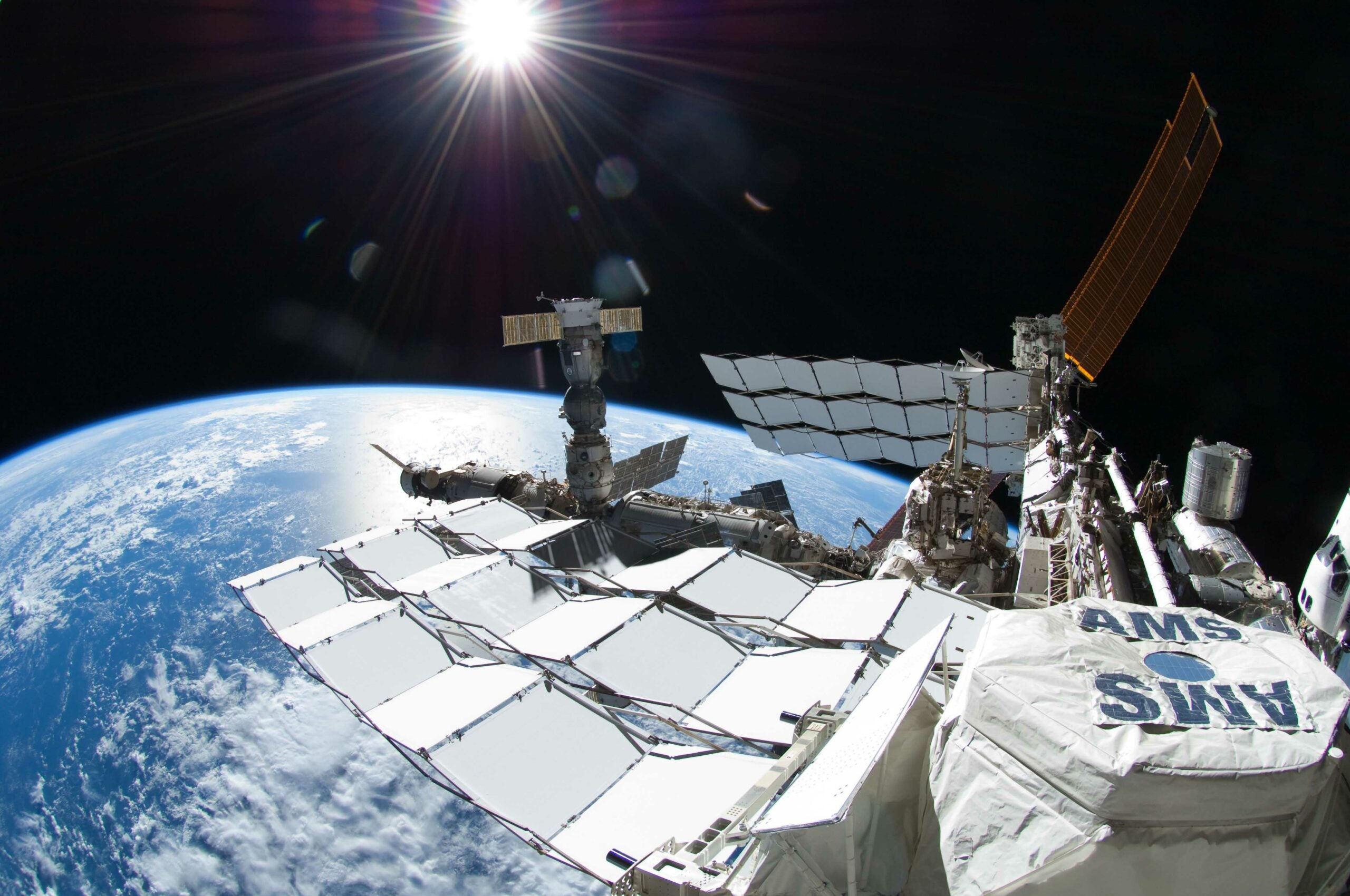 Space Station's Giant Antimatter Magnet Finds Abundance Of Mysterious Particles