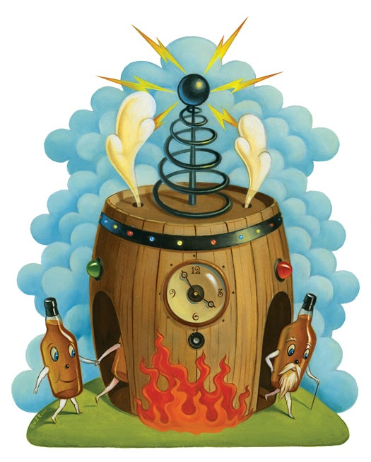 Tested: A Chemical Time Machine Makes Whiskey Taste Older, Faster