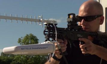 American Anti-Drone Rifle Deployed In Iraq
