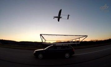 Watch A Drone Land Autonomously On A Car Driving 45 MPH