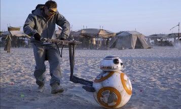 How The 'Force Awakens' Crew Filmed BB-8