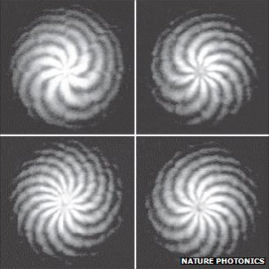 By Twisting Light Signals into a Vortex, Researchers Create Fastest Wireless Connection Ever