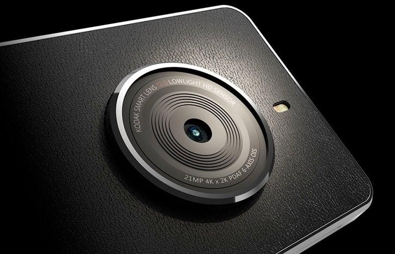 Kodak Will Make A Camera-Focused Smartphone