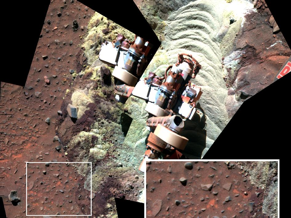 Spirit Rover Finds Evidence of Liquid Water on Mars