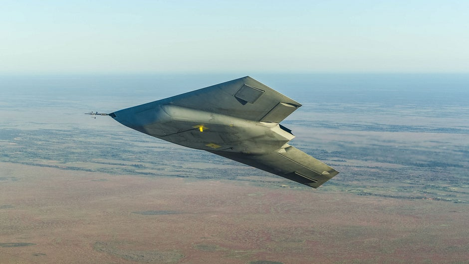 In Flight Test, British Stealth Drone Is Actually Stealthy