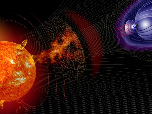 New Solar Storm Forecasting Technique Breaks The 24-Hour Warning Barrier For Earth