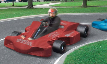 The Fuel-Cell Racing Go-Kart