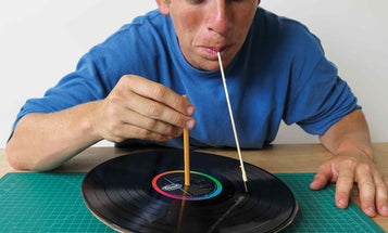Listen To Records With Your Teeth