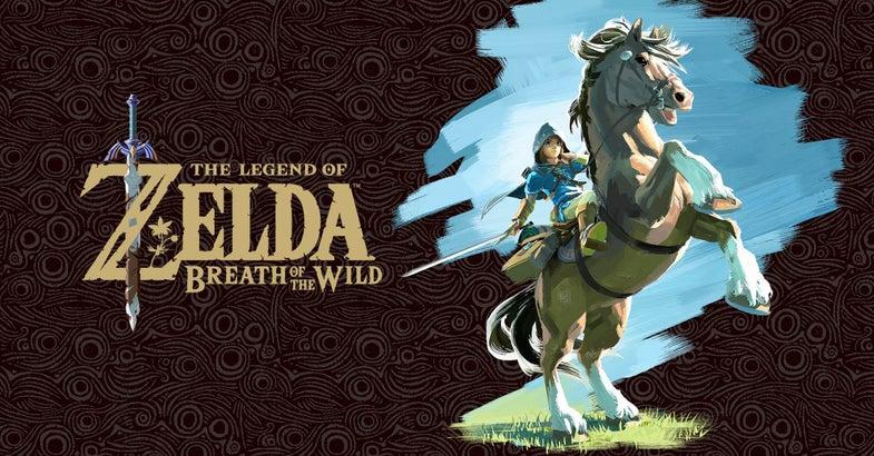 The Legend of Zelda: Breath of the Wild official Nintendo artwork