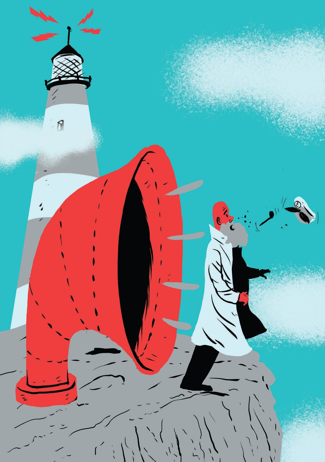 Who Blows A Lighthouse's Foghorn?