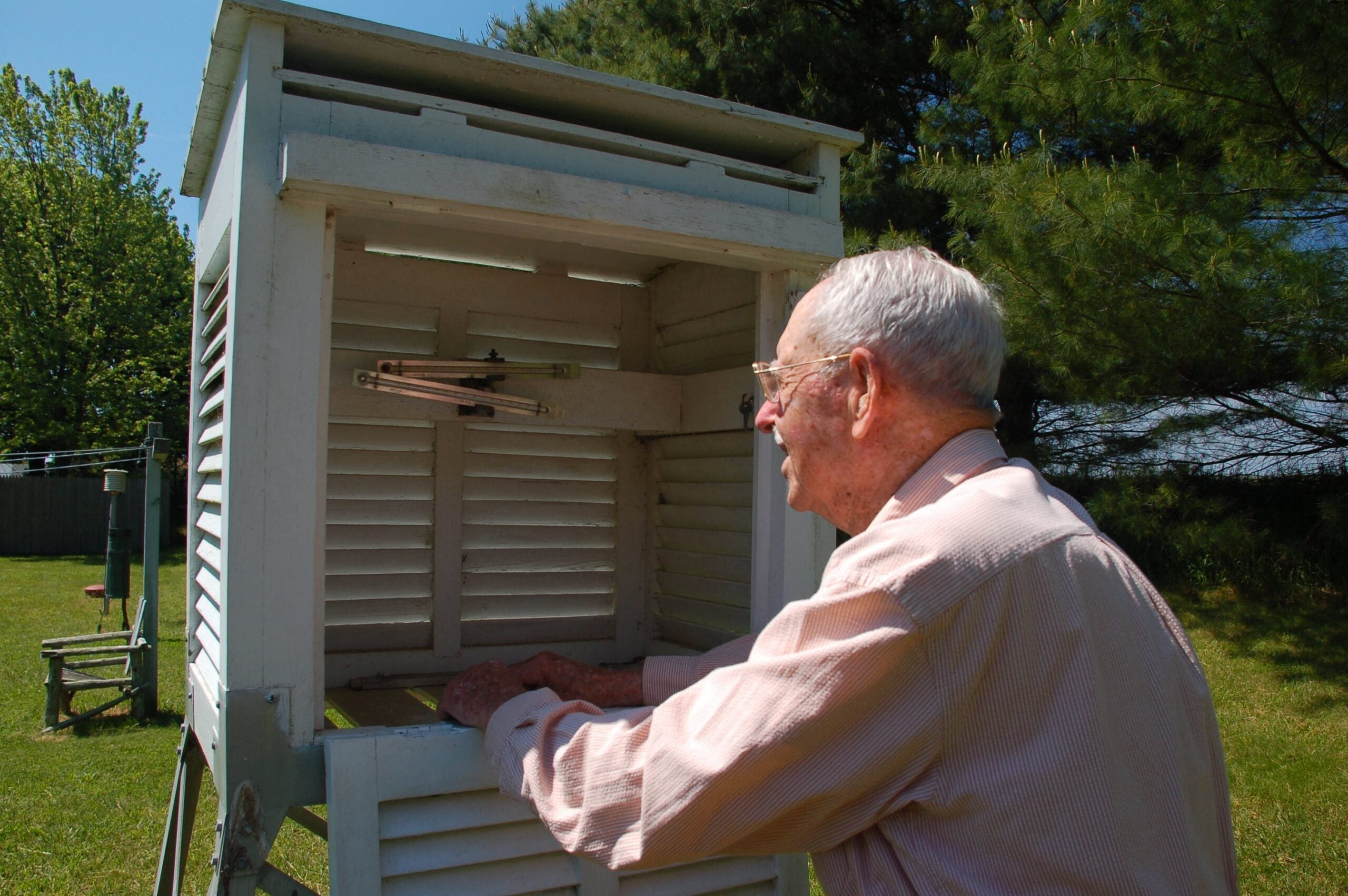 101-Year-Old Citizen Scientist Has Called In Weather Observations Every Day For 84 Years