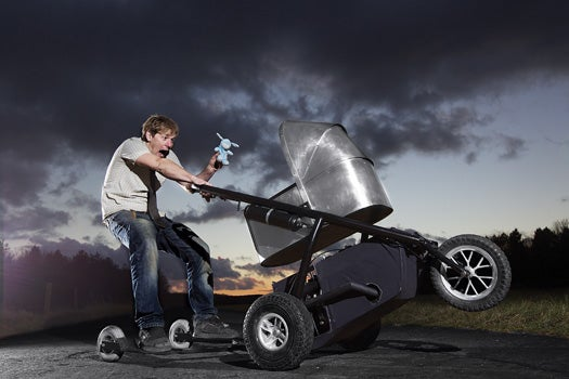 You Built What?!: The World's Fastest Baby Carriage