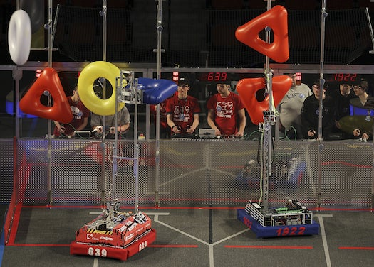 FIRST Robot Competition Showcases Geekiness, Ingenuity and the Dreams of 12,000 Kids