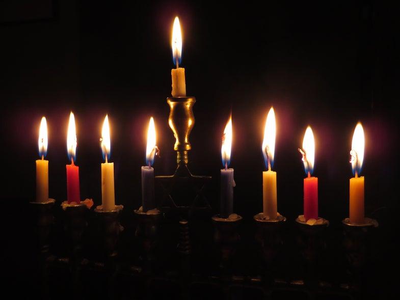 Celebrate Hanukkah by building your own menorah