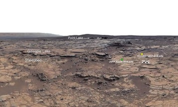 Curiosity Finds A Former Lake On Mars