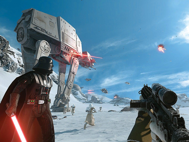 Star Wars Battlefront: Biggest Videogame Space Battle