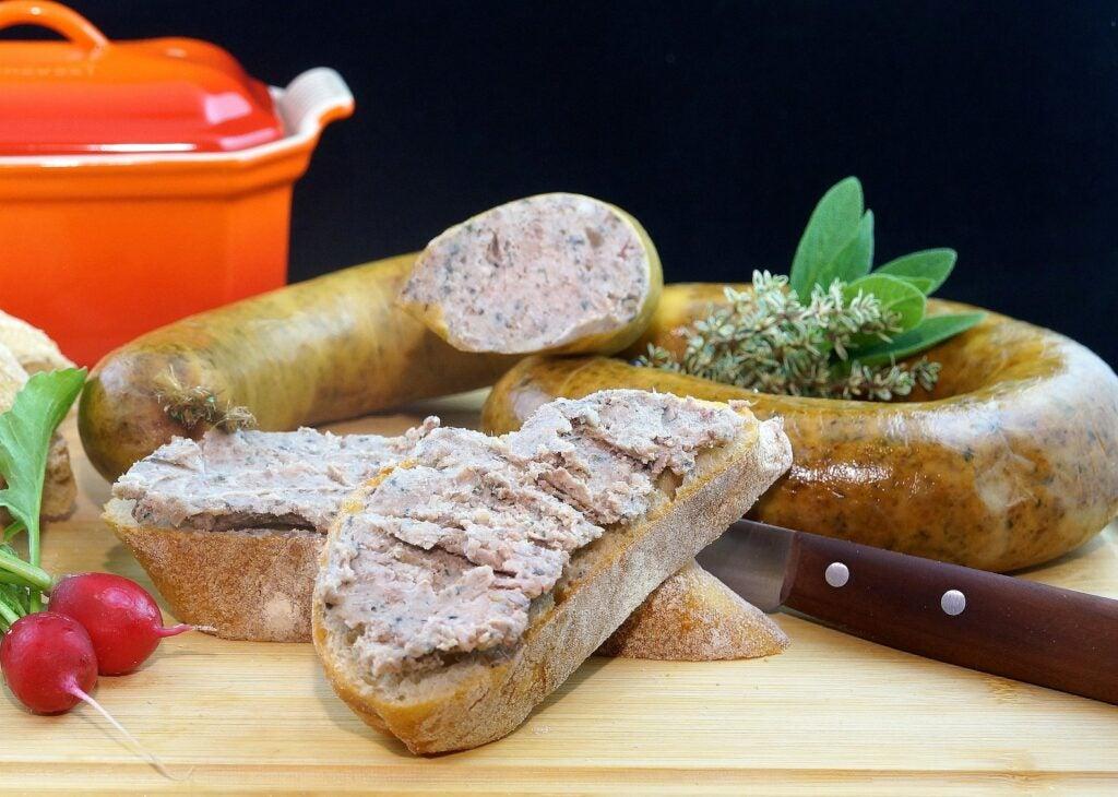 liver sausage