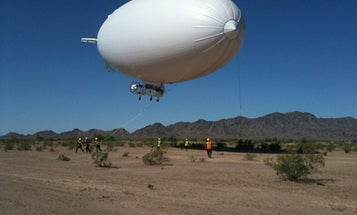 Navy Sending MZ-3A Airship to Gulf for Cleanup Effort