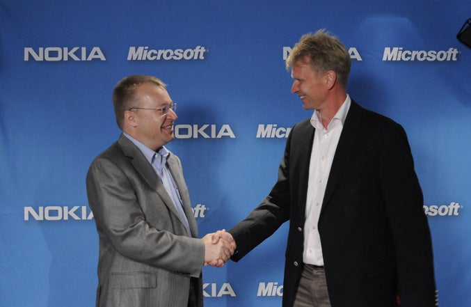 A Desperate Nokia Partners With Microsoft, Will Release Windows Phone 7 Smartphones