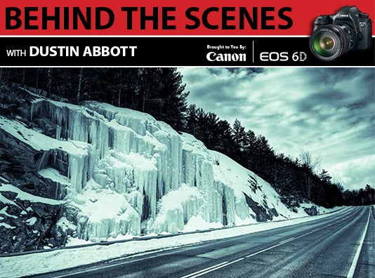 BEHIND THE SCENES WITH the Canon EOS 6D: Photographer Dustin Abbott [Sponsored Post]