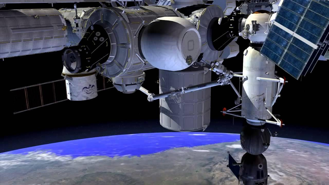 Illustration of BEAM installed on the International Space Station