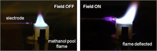 Video: DARPA Rubs a Flame With an Electric Wand to Extinguish It