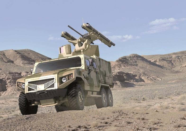 Hafeet Air Defense Vehicle