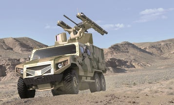 Weapons For Future Wars On Sale At Abu Dhabi Arms Show