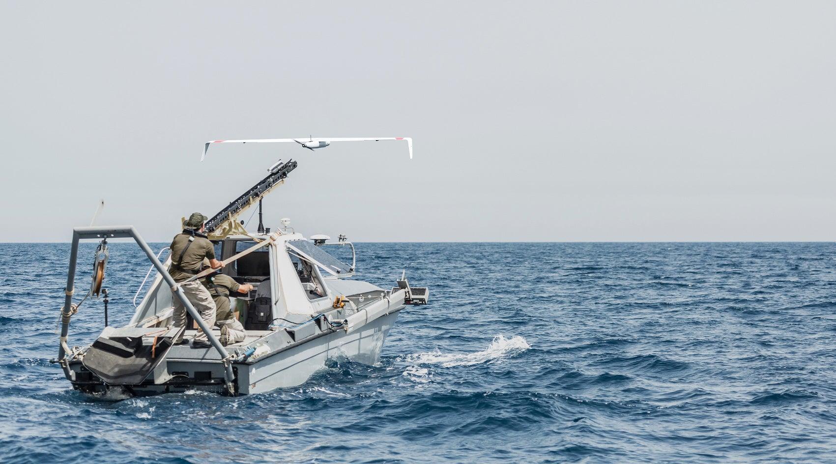 Skylark Is A Small Sea Drone