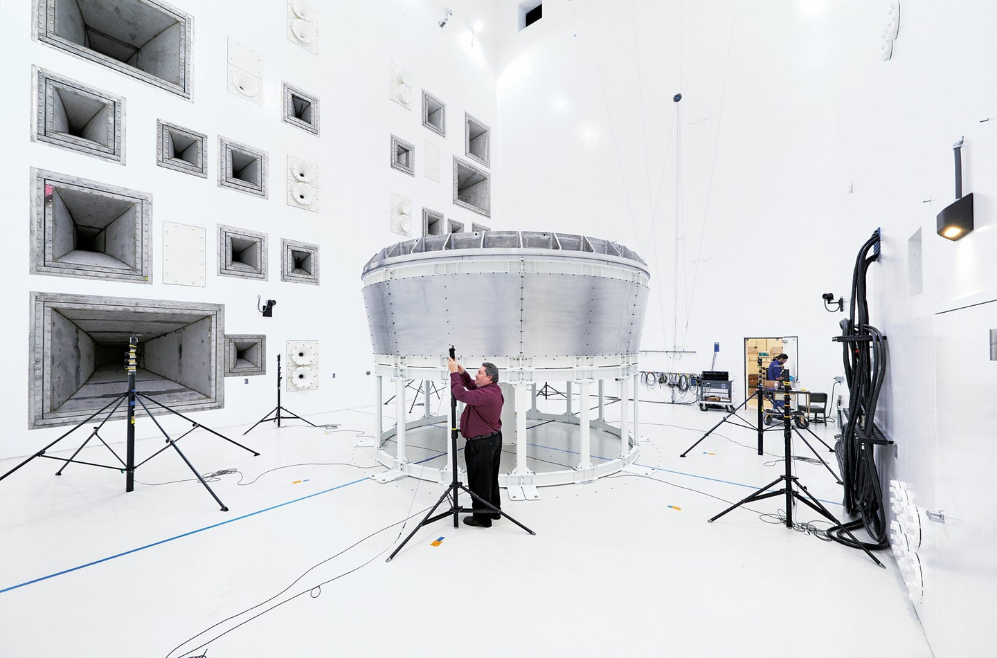 acoustic testing chamber
