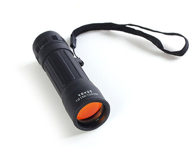 Get eight times closer to the action with this monocular lens