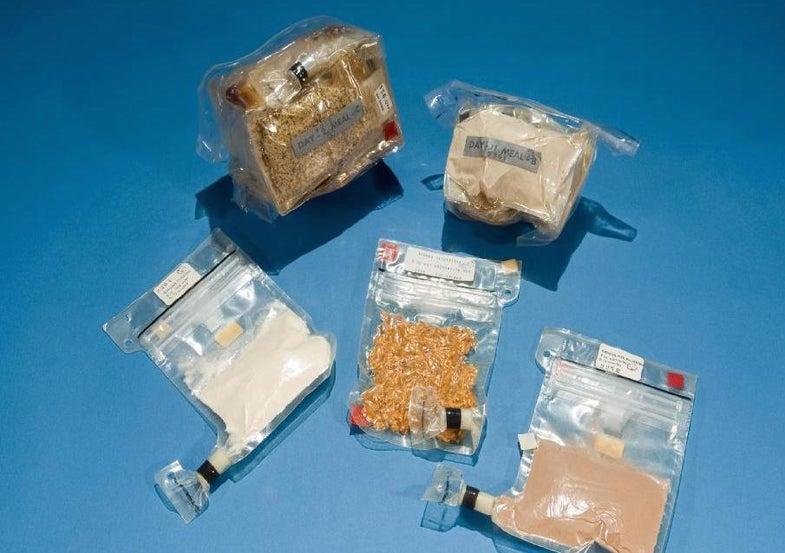 Apollo food packs.