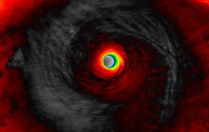How Typhoon Nepartak Got Its Supercharged Spin Cycle