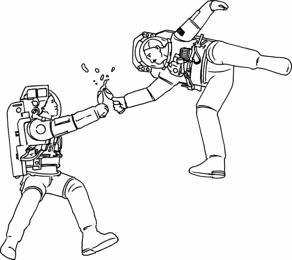 """astronauts"