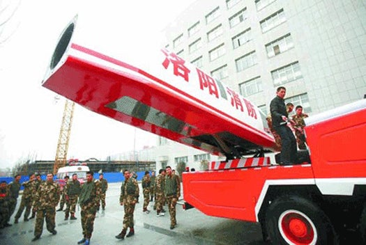 Video: China's New Water Cannon Is Powered By A Jet Engine