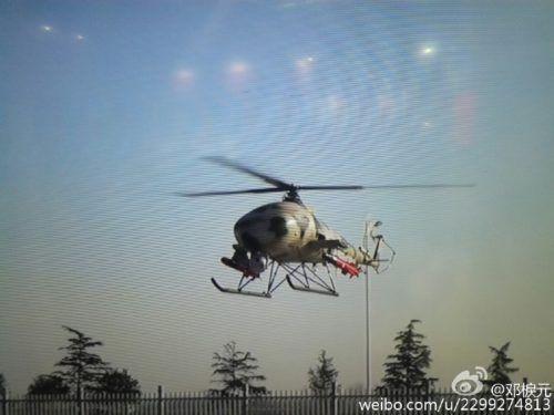 China V750 UCAV Antitank Missile Helicopter Drone