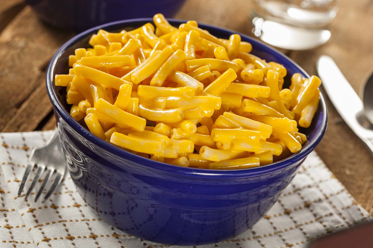 Mac-n-cheese probably isn't more toxic than other foods