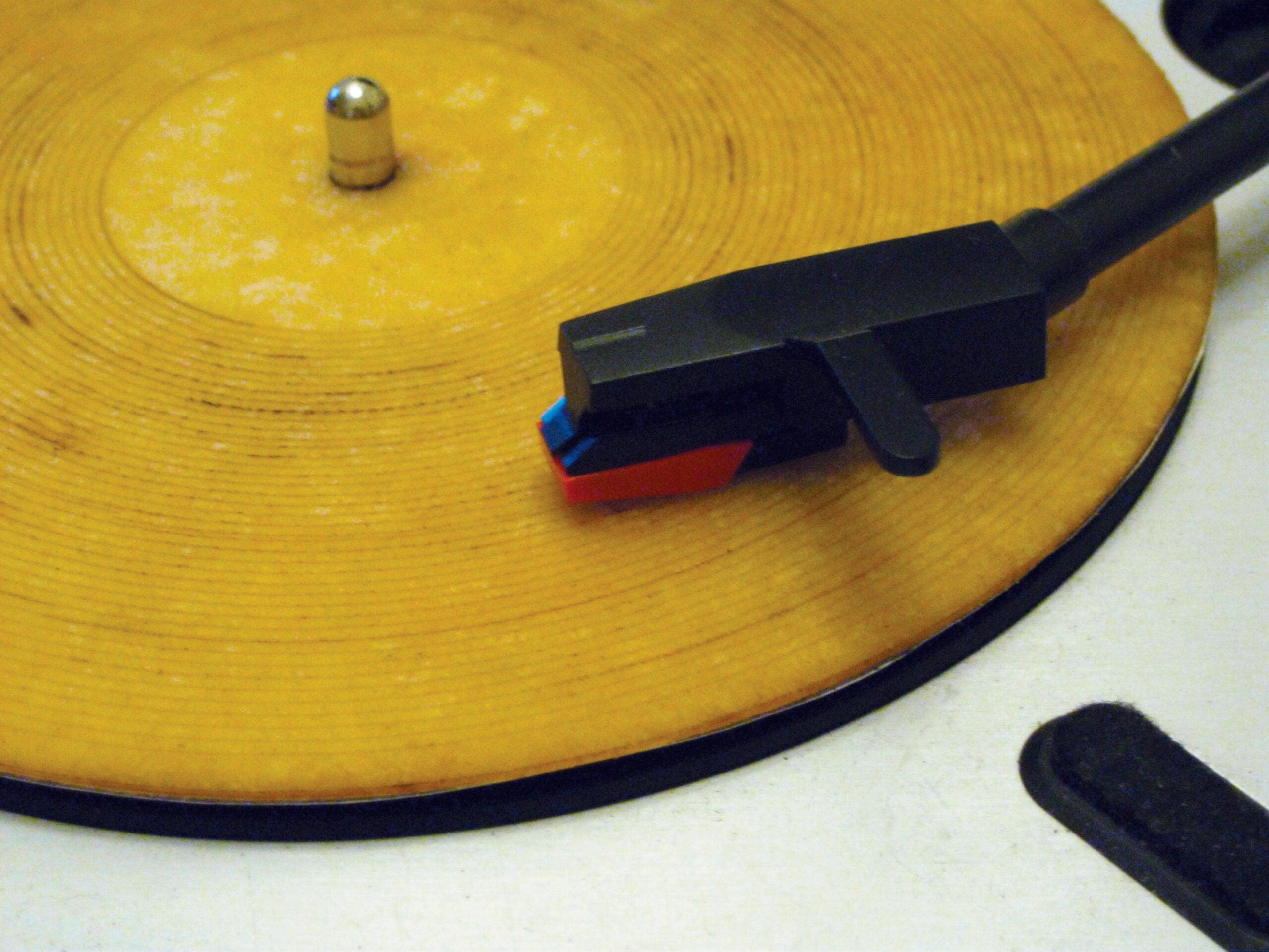 Cut A Record From A Tortilla
