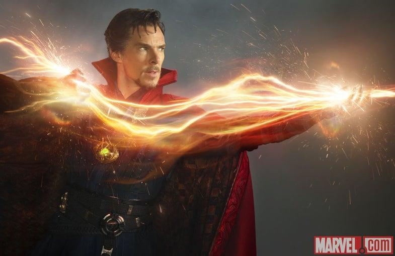 Marvel's 'Doctor Strange' Looks Pretty Sick