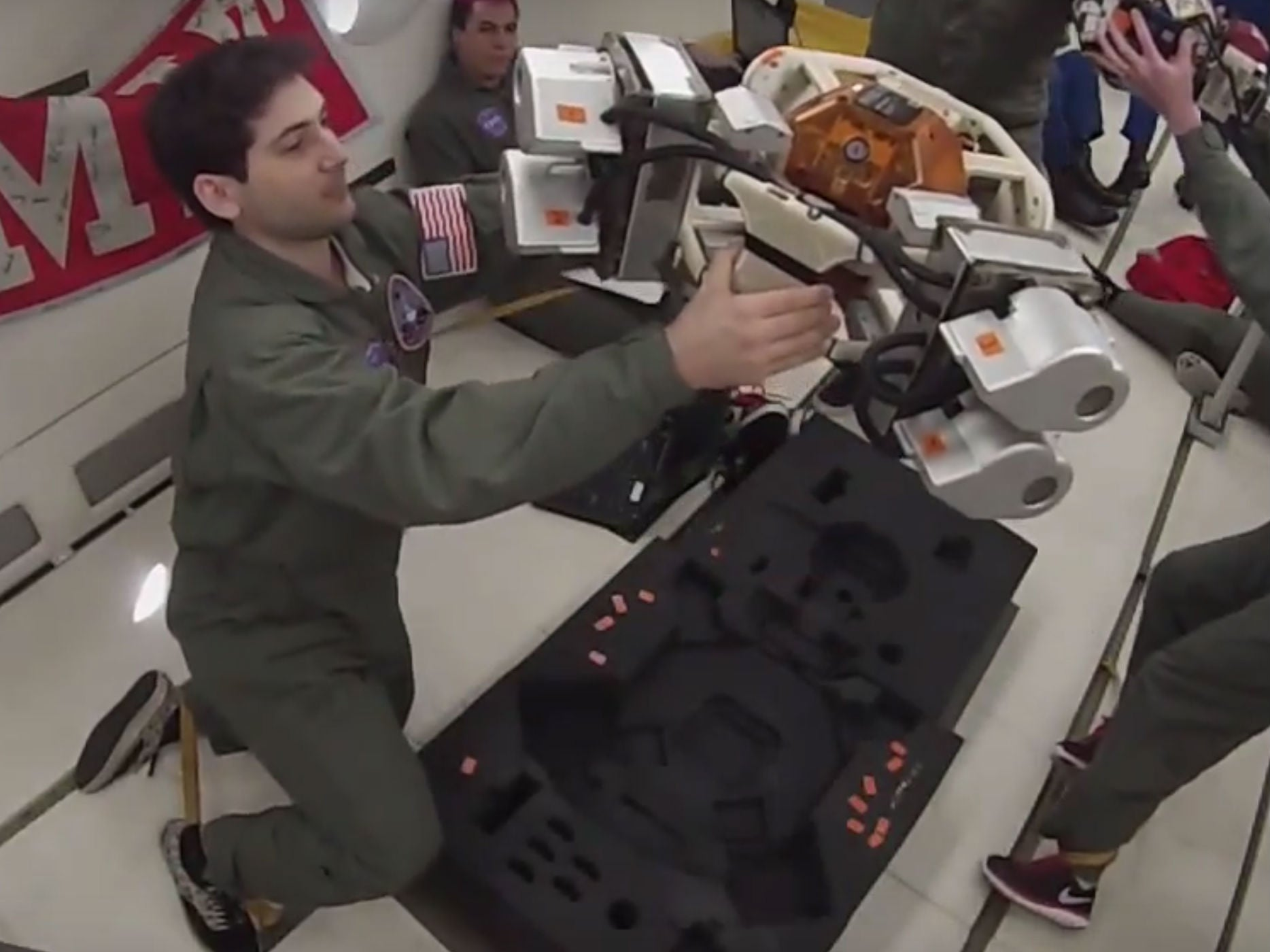 Watch Scientists Test New Jetpack Tech For Exploring Asteroids